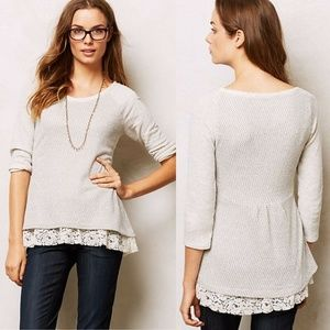 Anthropologie Postmark Hattie Sweatshirt